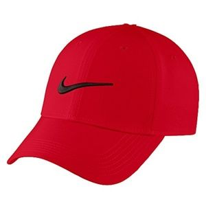 Nike Red Baseball Cap Boys Sz 4-7 NWT